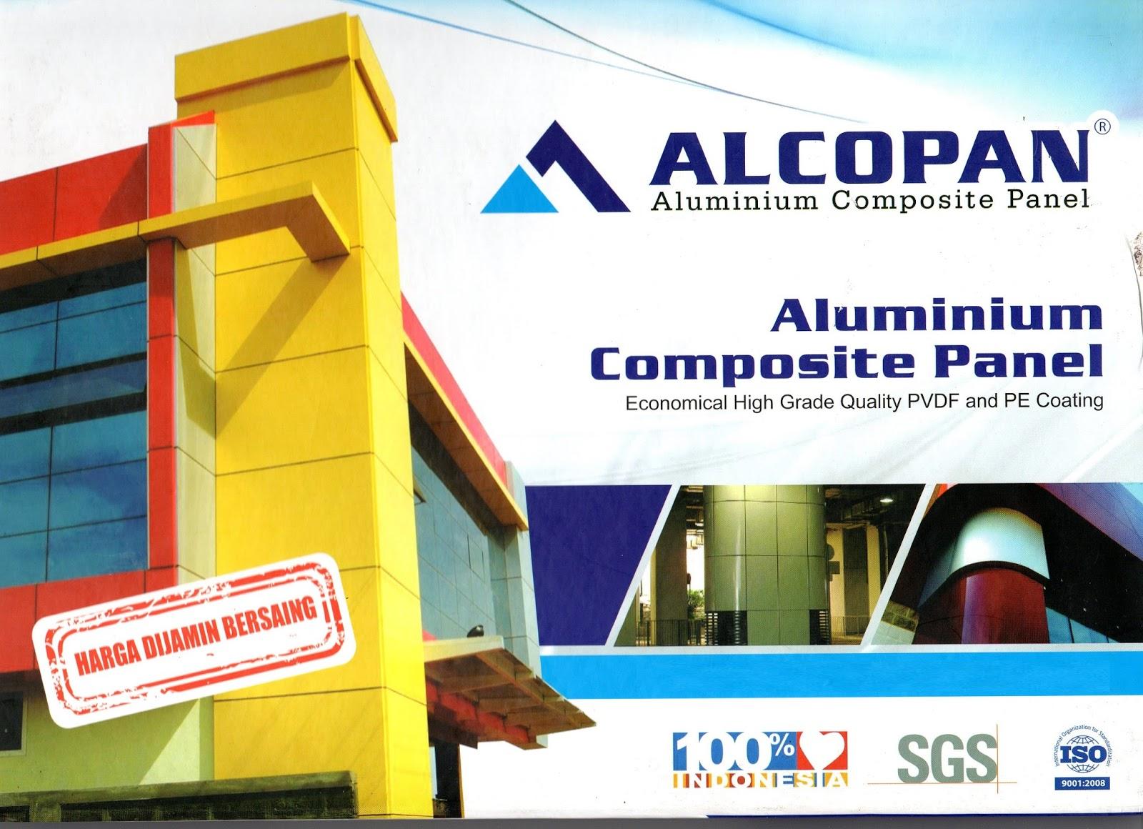 Jual Pasang ACP Alcopan Harga Termurah Terbaru 2018