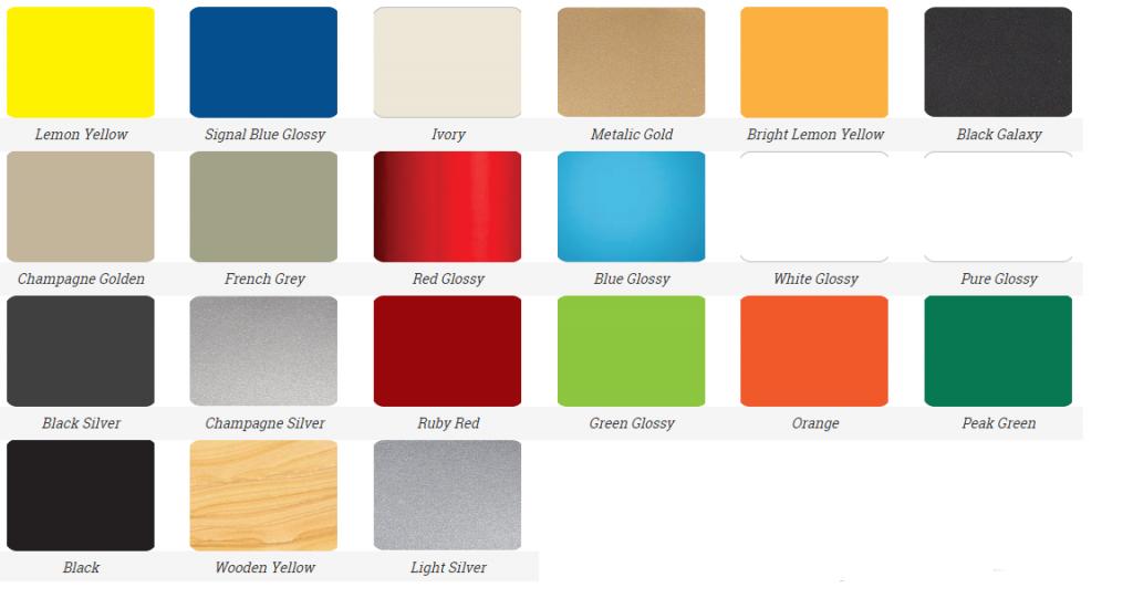 warna ACP distributor supplier acp surabaya murah bervariasi